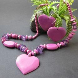 Komplet PURPLE HEART