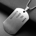 Verižica DOG TAG