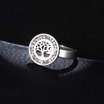 Prstan TREE OF LIFE SILVER