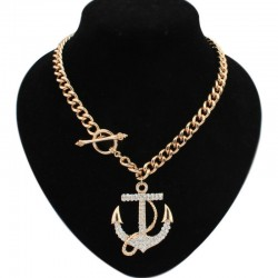 Ogrlica DIAMOND ANCHOR